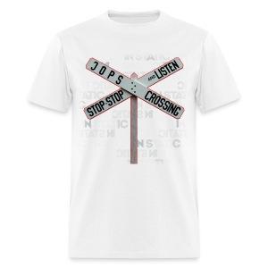 Stop & Listen - Men's T-Shirt
