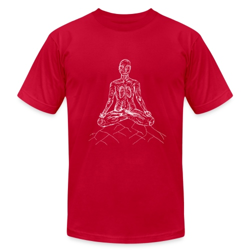 Yoag Tree Mediitation Man - Men's  Jersey T-Shirt