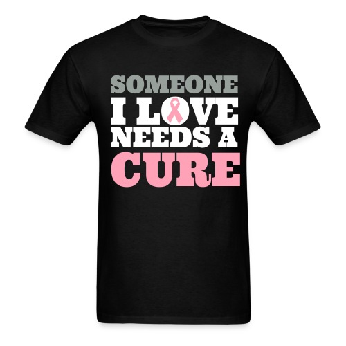 Someone I love (m) - Men's T-Shirt