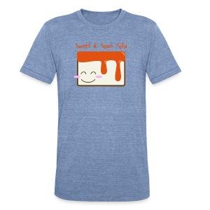 Cute Sweet & Sour Tofu Men's Tee - Unisex Tri-Blend T-Shirt