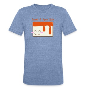 Cute Sweet & Sour Tofu Men's Tee - Unisex Tri-Blend T-Shirt by American Apparel