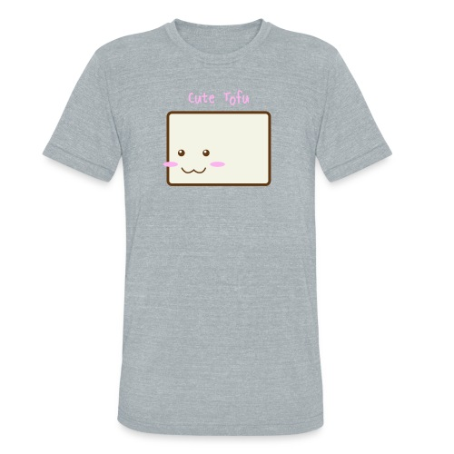 Cute Tofu Men's Tee - Unisex Tri-Blend T-Shirt