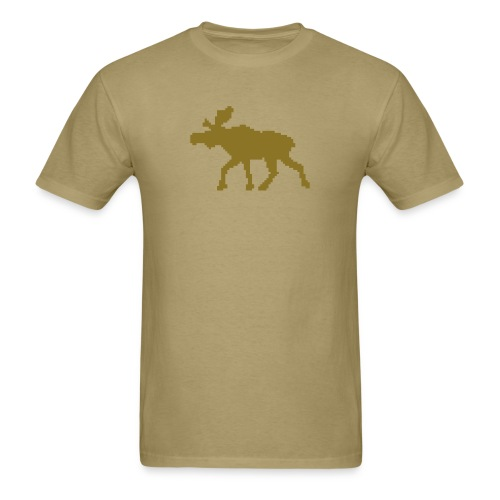 t-shirt: moose - Men's T-Shirt