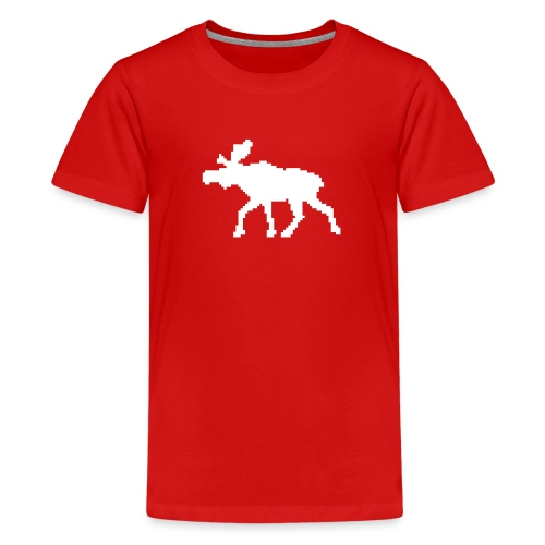 t-shirt: moose - Kids' Premium T-Shirt