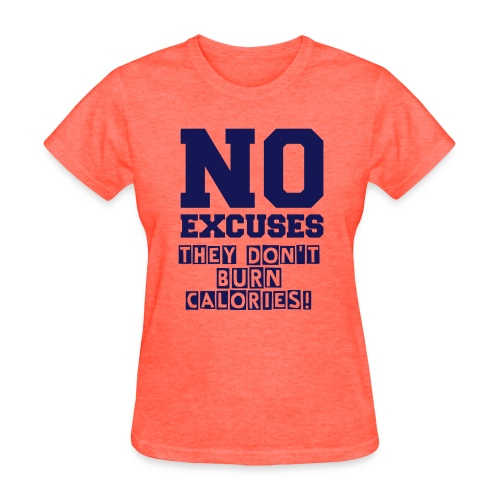 Basic Tee - No Excuses - Women's T-Shirt