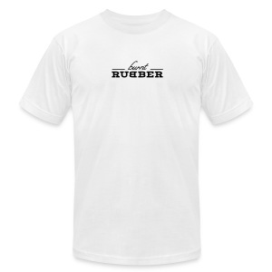 Burnt Rubber - Men's T-Shirt by American Apparel