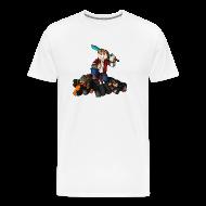 T-Shirts ~ Men's Premium T-Shirt ~ Hunger Games Song T-Shirt (M)