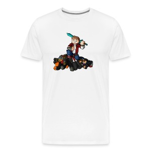 Hunger Games Song T-Shirt (M) - Men's Premium T-Shirt