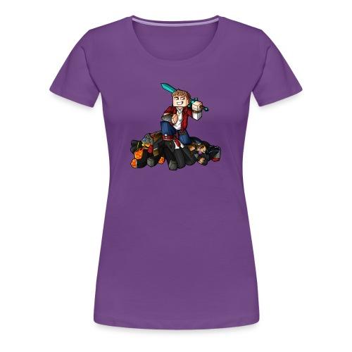 Hunger Games Song T-Shirt (F) - Women's Premium T-Shirt