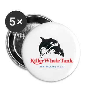 Killer Whale Tank Buttons (LG) - Large Buttons