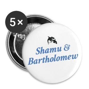 Shamu & Bartholomew Buttons (LG) - Large Buttons