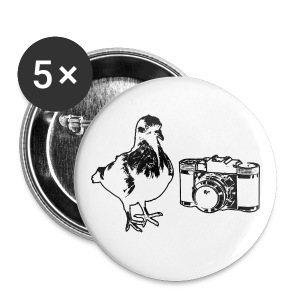 Pigeon Camera Buttons (SM) - Small Buttons