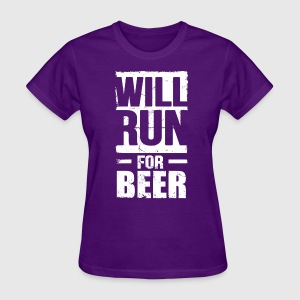 will_run_for_beer Women's T-Shirts - Women's T-Shirt