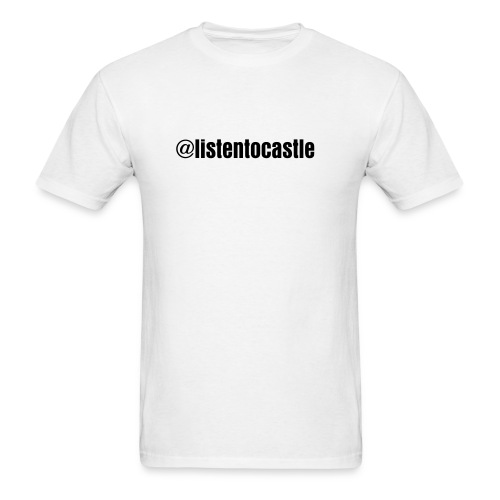 @listentocastle T Shirt - Men's T-Shirt