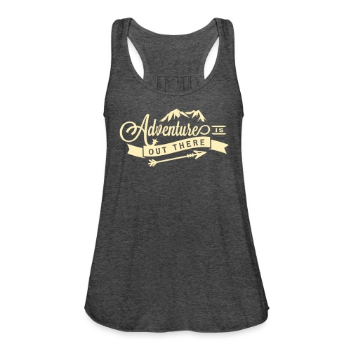 Adventure is Out There Flowy Yoga Bella Tank - Women's Flowy Tank Top by Bella