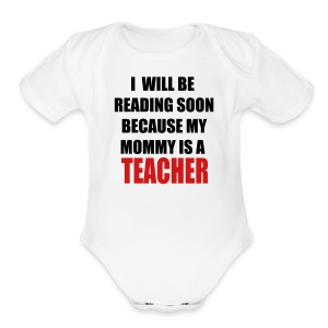 I will be reading soon - Short Sleeve Baby Bodysuit