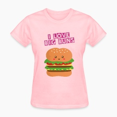 cute and big cheese burger Women's T-Shirts