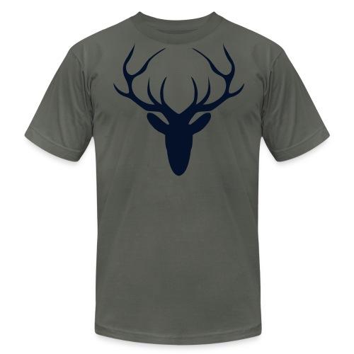 Black Gitz Stag Top - Men's  Jersey T-Shirt