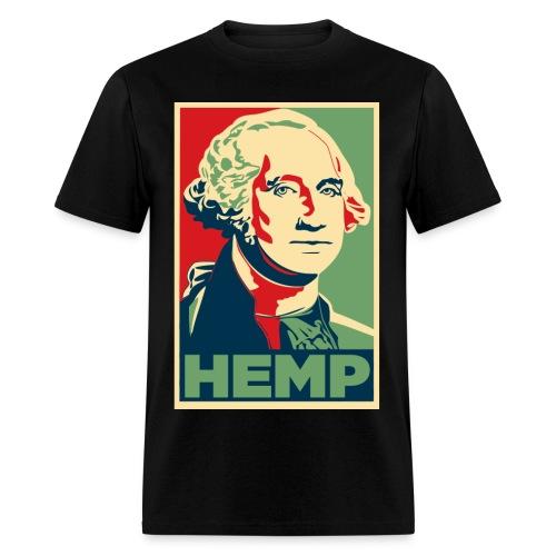 George Washington Hemp Cannabis Weed - Men's T-Shirt