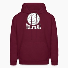 Volleyball bicolor Hoodies