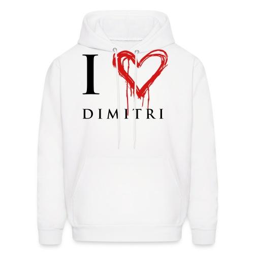 I heart Dimitri - Men's Hoodie