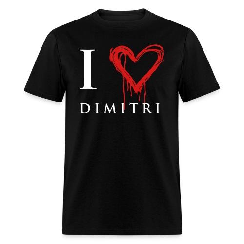 I heart Dimitri - Men's T-Shirt