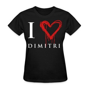 I heart Dimitri - Women's T-Shirt
