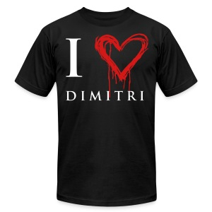 I heart Dimitri - Men's T-Shirt by American Apparel