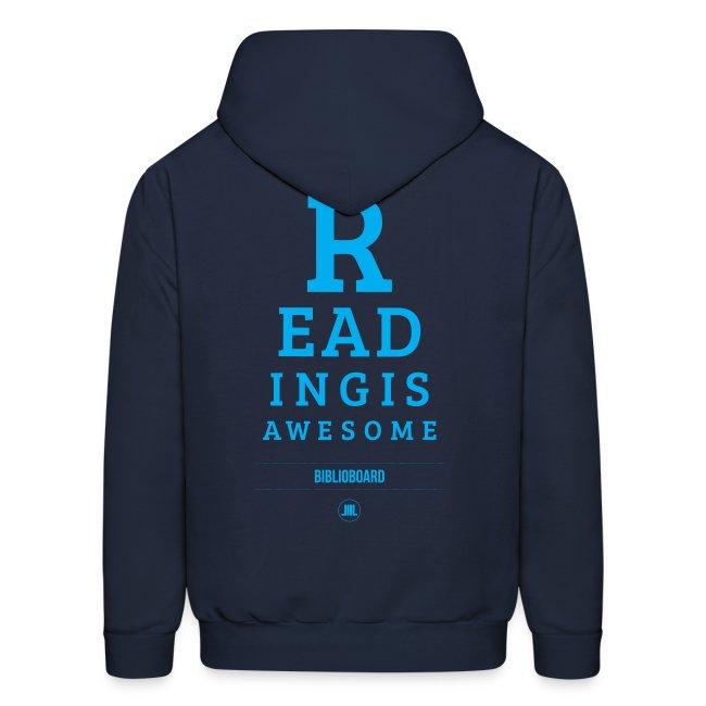 """BiblioBoard """"Reading Is Awesome"""" Sweatshirt"""