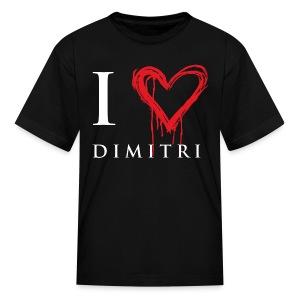 I heart Dimitri - Kids' T-Shirt