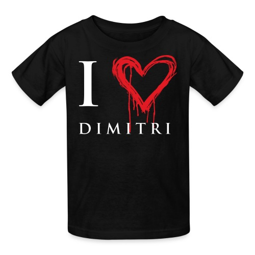 I heart Dimitri - Kids' T-Shirt
