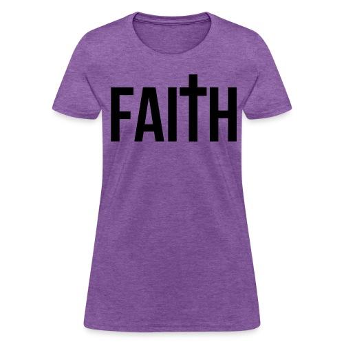 Women's Faith T-Shirt - Women's T-Shirt