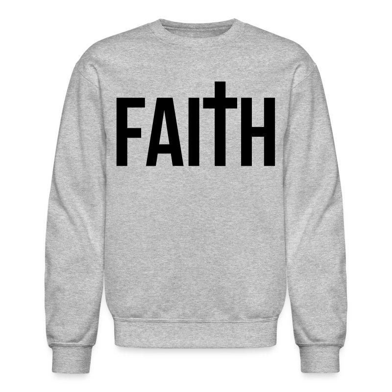 Mens Faith Crew Neck Sweatshirt | KevOnStage