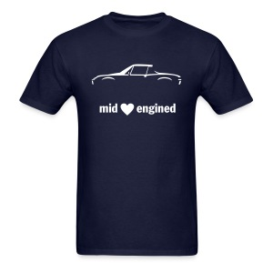 Mid engined - Men's T-Shirt