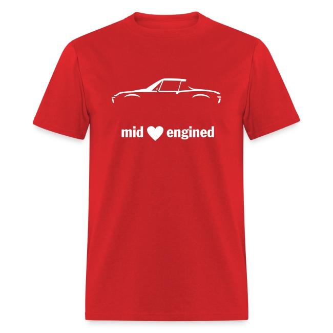 Mid engined