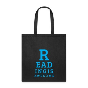 BiblioBoard Reading Is Awesome Tote Bag - Tote Bag