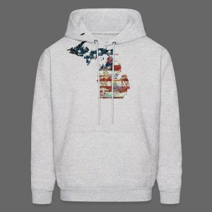 State and Country - Men's Hoodie