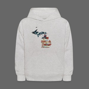 State and Country - Kids' Hoodie