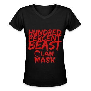 Women's T-Shirt - Women's V-Neck T-Shirt