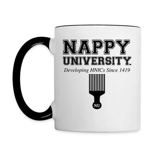 Nappy University 2 Tone Mug - Contrast Coffee Mug