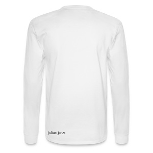 Infinity Braille  Men's Cloudy White - Men's Long Sleeve T-Shirt