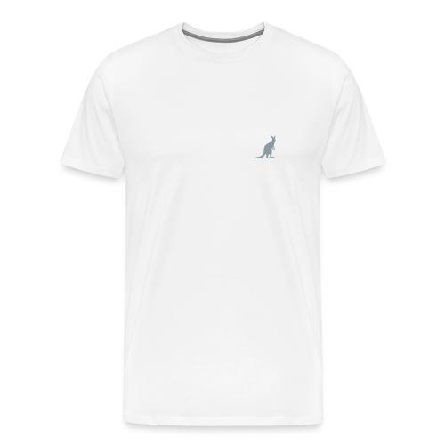 Kangaroo Crest Shirt - Men's Premium T-Shirt