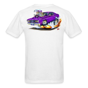 Plymouth Duster Drag Race Graphic T-Shirt - Men's T-Shirt
