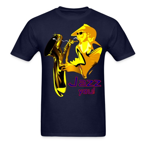 Jazz You - Men's T-Shirt