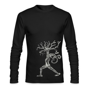 Peaceful Drealock Warrior - Men's Long Sleeve T-Shirt by Next Level
