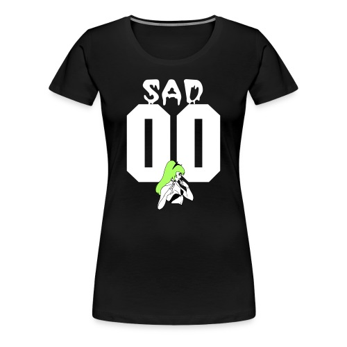 SAD & BROKE (W) - Women's Premium T-Shirt