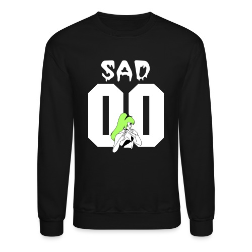 SAD & BROKE CREW (M) - Crewneck Sweatshirt