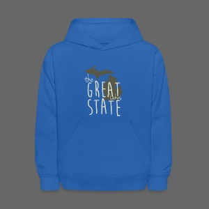 The Great State - Kids' Hoodie