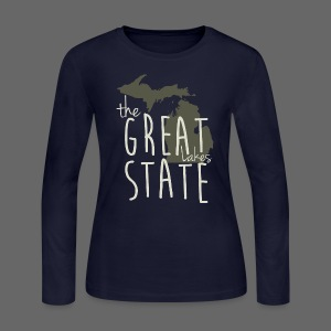 The Great State - Women's Long Sleeve Jersey T-Shirt