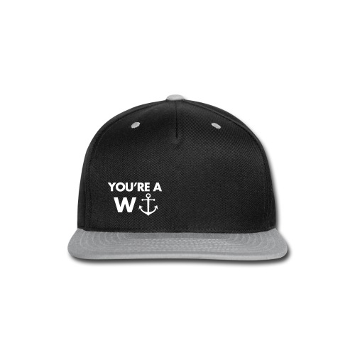 wanchor  - Snap-back Baseball Cap